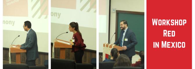 Workshop RED in Mexico diálogo económico en la UP Ags