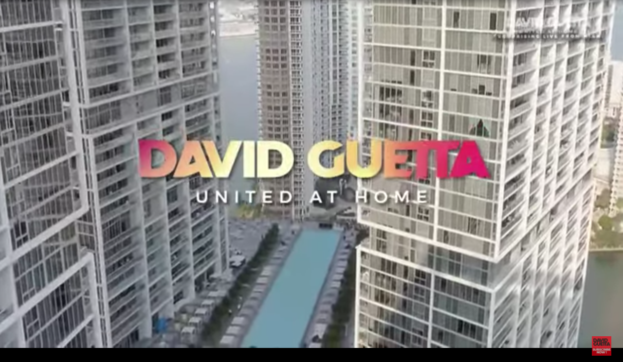 David Guetta streaming event management