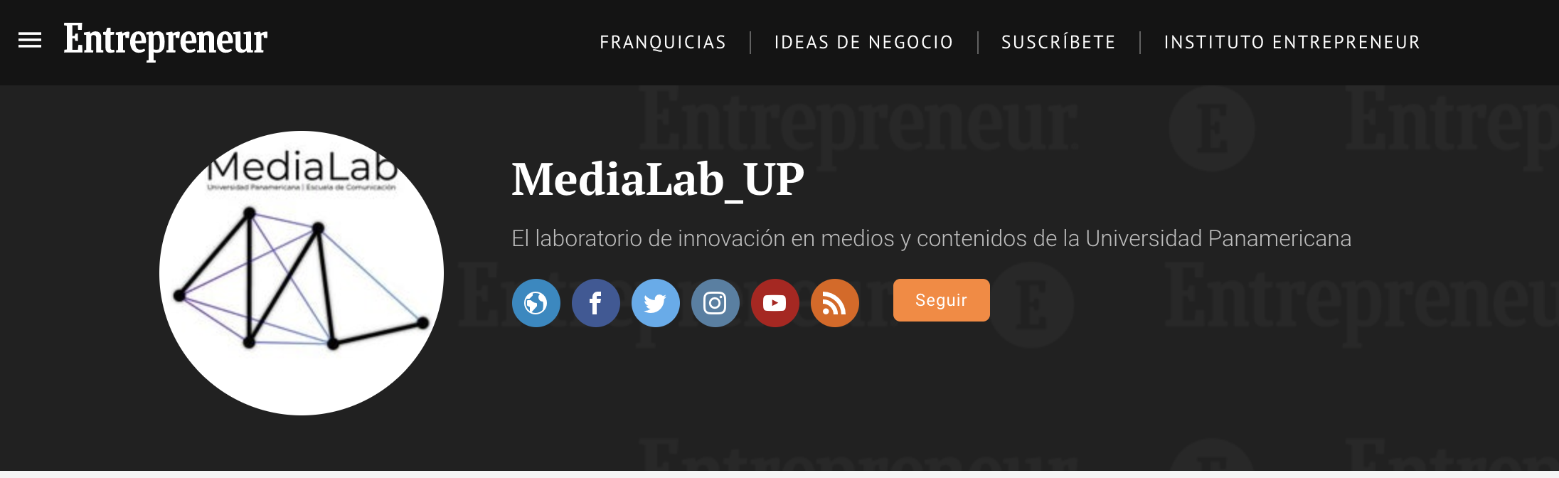Entrepreneur media Lab UP