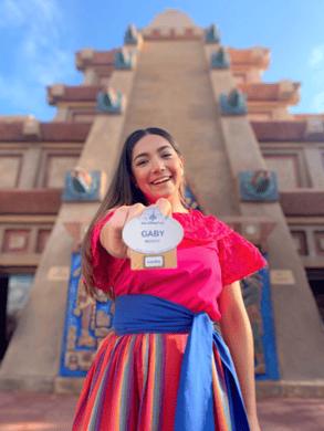 Gabriela Baez Mota Trabajar en Disney