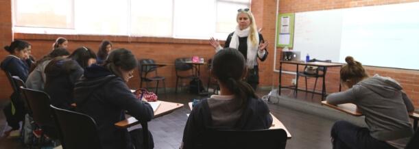 En la prepaUP, cada maestra está preparada para darle la mejor educación a tu hija